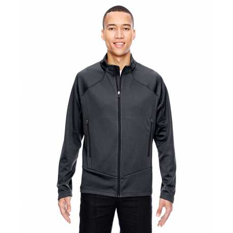 North End Sport Red 88806 Men's Cadence Interactive Two-Tone Brush Back Jacket