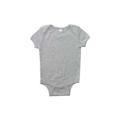 Bella + Canvas B100 Infant Short-Sleeve Baby Rib One-Piece