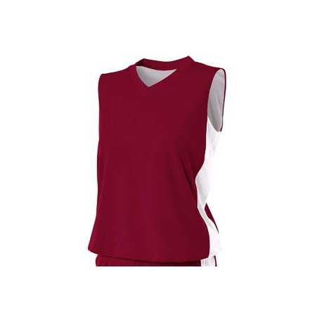 A4 NW2320 Ladies' Reversible Moisture Management Muscle Shirt