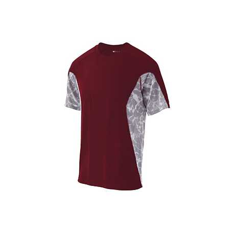 Holloway 222413 Adult Polyester Short Sleeve Tidal Shirt