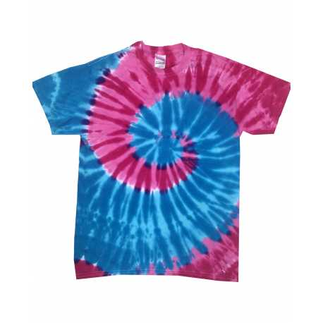Tie-Dye CD1180 Adult 5.4 oz., 100% Cotton Islands Tie-Dyed T-Shirt