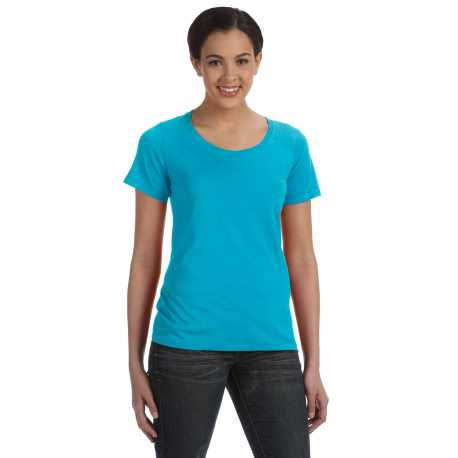 Anvil 391A Ladies' Ringspun Sheer Featherweight T-Shirt