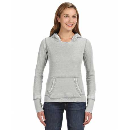 J America JA8912 Ladies' Zen Pullover Fleece Hood