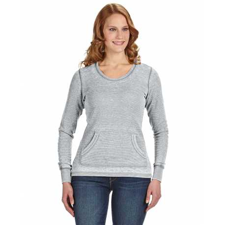 J America JA8255 Ladies' Zen Thermal Long-Sleeve T-Shirt