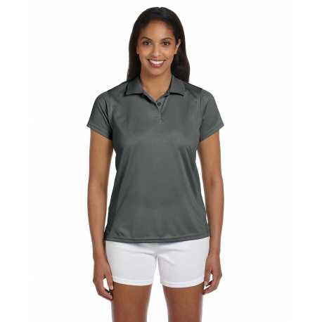 Harriton M315W Ladies' 4 oz. Polytech Polo