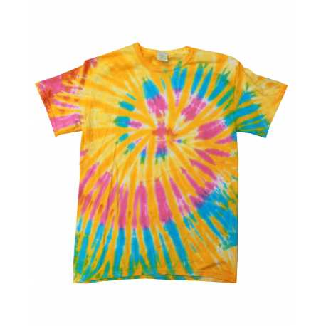 Tie-Dye CD100 Adult 5.4 oz., 100% Cotton Tie-Dyed T-Shirt
