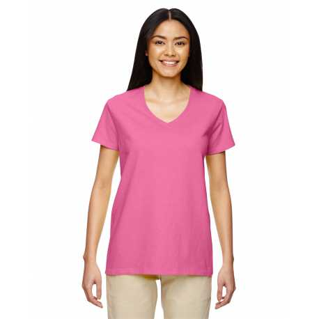 Gildan G500VL Ladies' Heavy Cotton 5.3 oz. V-Neck T-Shirt