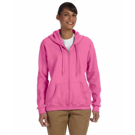 Gildan G186FL Ladies' Heavy Blend 8 oz., 50/50 Full-Zip Hood