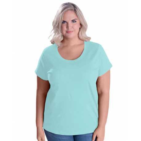LAT 3804 Ladies' Curvy Premium Jersey T-Shirt