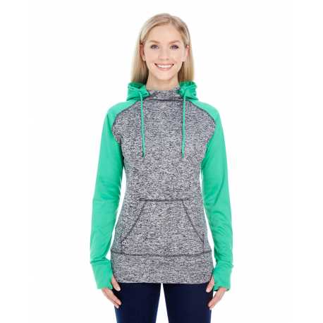J America JA8618 Ladies' Colorblock Cosmic Hood