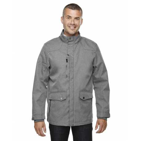 North End Sport Blue 88672 Men's Uptown Three-Layer Light Bonded City Textured Soft Shell Jacket
