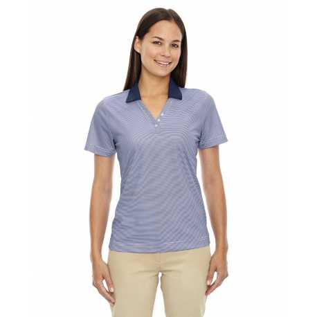 Extreme 75115 Ladies' Eperformance Launch Snag Protection Striped Polo
