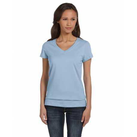 Bella + Canvas B6005 Ladies' Jersey Short-Sleeve V-Neck T-Shirt