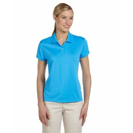 Adidas Golf A122 Ladies' climalite Short-Sleeve Pique Polo