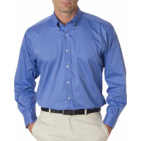 Van Heusen 13V521 Men's Long-Sleeve Dress Twill