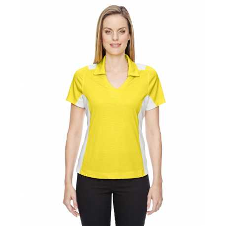 North End Sport Red 78691 Ladies' Reflex UTK cool.logik Performance Embossed Print Polo