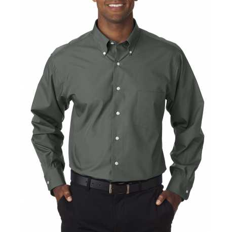 Van Heusen 13V0113 Men's Long-Sleeve Silky Poplin