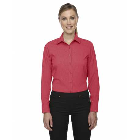 North End Sport Blue 78802 Ladies' Melange Performance Shirt