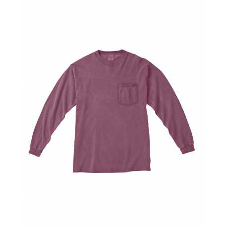 Comfort Colors C4410 Adult 6.1 oz. Long-Sleeve Pocket T-Shirt
