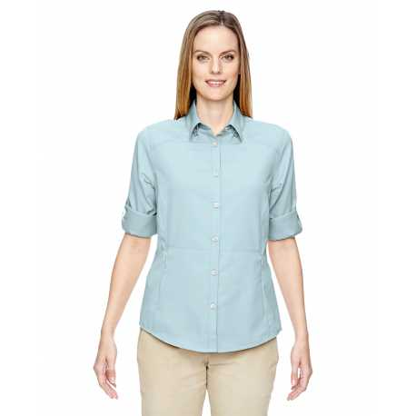North End 77047 Ladies' Excursion Concourse Performance Shirt