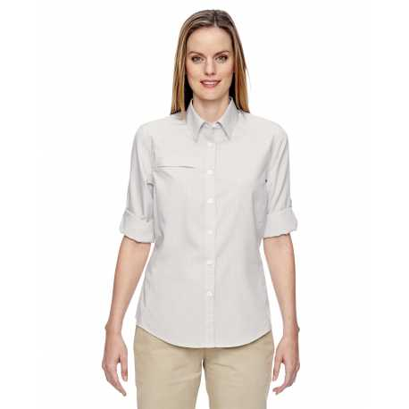 North End 77046 Ladies' Excursion F.B.C. Textured Performance Shirt