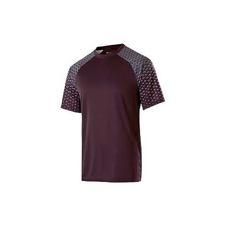 Holloway 228102 Adult Polyester Short Sleeve Voltage Shirt