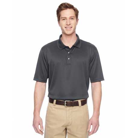 Harriton M345 Men's Advantage IL Snap Placket Performance Polo