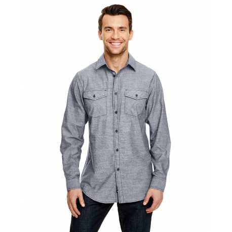 Burnside B8255 Mens Chambray Woven Shirt