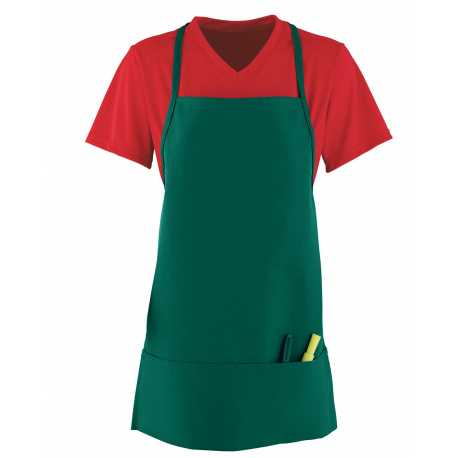 Augusta Sportswear 2060 Unisex Medium Apron With Pouch
