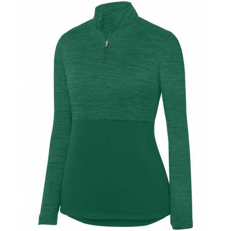 Augusta Sportswear 2909 Ladies' Shadow Tonal Heather 1/4 Zip Pullover