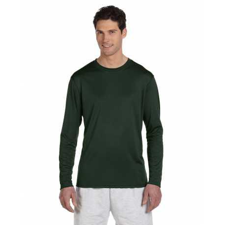Champion CW26 4.1 oz. Double Dry Long-Sleeve Interlock T-Shirt