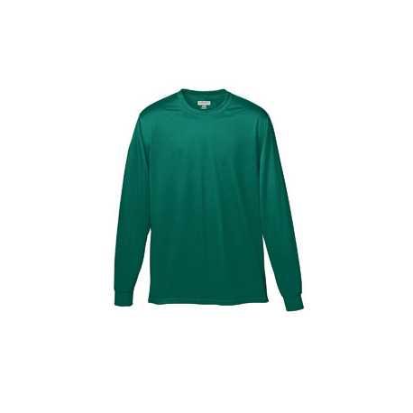 Augusta Sportswear 789 Youth Wicking Long-Sleeve T-Shirt
