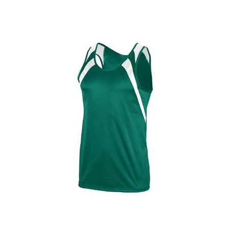 Augusta Sportswear 312 Youth Wicking Tank with Shoulder Insert