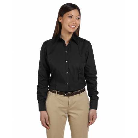 Van Heusen 13V0114 Ladies' Long-Sleeve Silky Poplin
