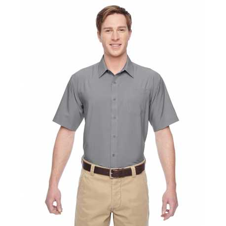 Harriton M610S Men's Paradise Short-Sleeve Performance Shirt